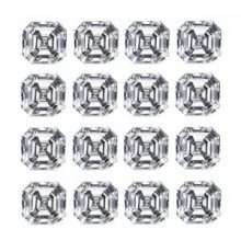 Asscher Diamond Cut Layouts - Ava Diamonds
