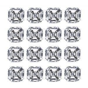 Asscher Diamond Cut Layouts - Ava Diamonds