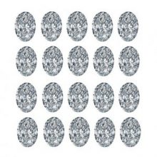 Oval Cut Diamond Layouts - Ava Diamonds