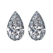 Pear Cut Diamond Side Stones by Ava Diamonds