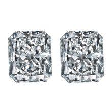 Rectangular Radiant Diamonds by Ava Diamonds