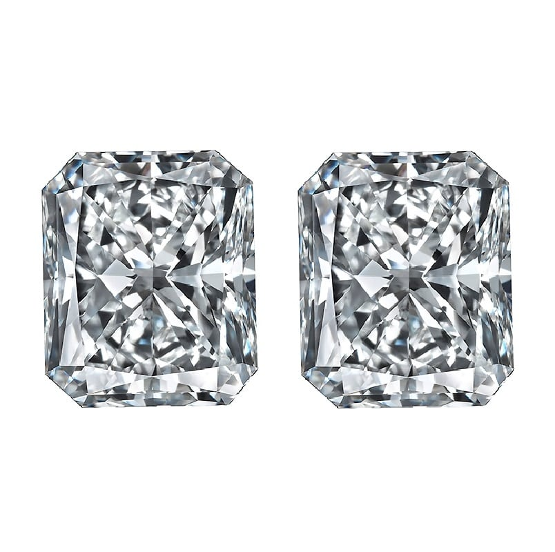 Rectangular Radiant Diamonds by Ava Diamonds