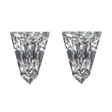 Tapered Bullet Side Stones Diamond