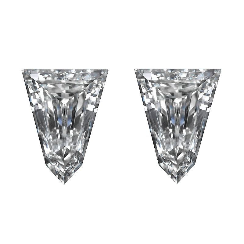 Tapered Bullet Side Stones Diamond