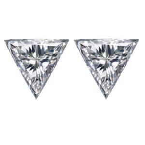 Loose Trillion Cut Diamond Side Stones - Ava Diamonds