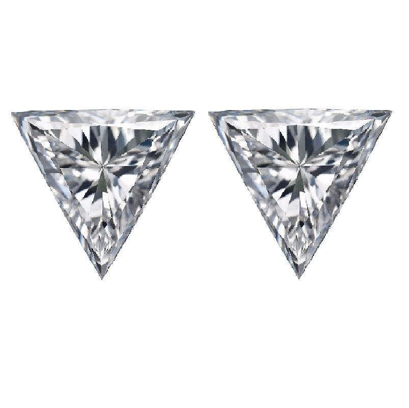 Loose Trillion Cut Diamond Side Stones - Ava Diamonds