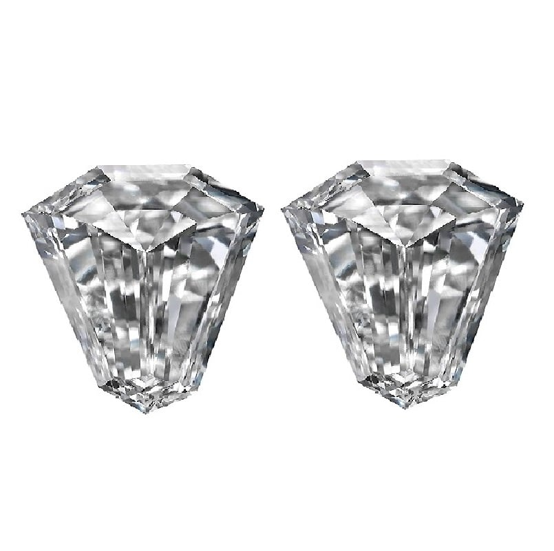 Shield Cut Diamonds - Ava Diamonds