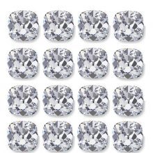 Calibrated Rows of Loose Old Mine Cut Diamonds - Ava Diamonds