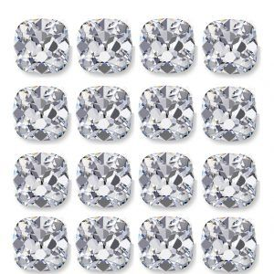 Calibrated Rows of Loose Old Mine Cut Diamonds - Ava Diamonds