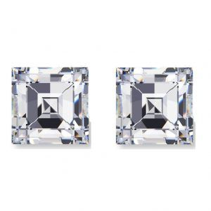 Carre Cut Diamond Side Stones - Ava Diamonds