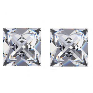 French Cut Diamond Side Stones - Ava Diamonds