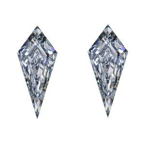 Kite Cut Diamonds - Side Stones - Ava Diamonds
