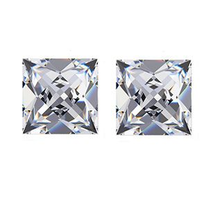 French Cut Diamond Side Stones AVA DIAMONDS