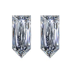 Straight Bullet Cut Diamond Side Stones - Ava Diamonds