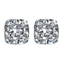 Square Cushion Cut Diamond Matching Pairs - Ava Diamonds