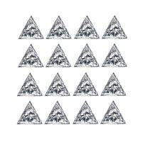 Trillion Shape Brilliant Cut Diamond Layouts Set by AVA DIAMONDS CORP