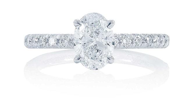 brilliant round cut pave diamond ring-min