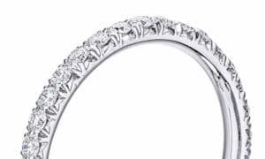 French Pavé Diamond Settings