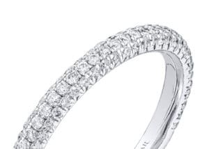 Micro Pavé Settings Engagement Rings