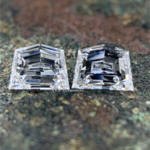epaulet cut side stone diamonds