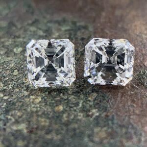 matching asscher cut diamond pairs-min