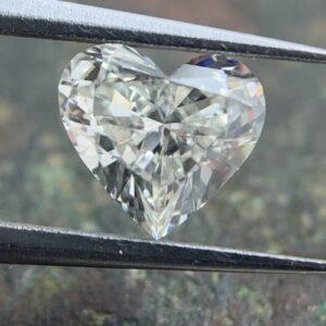 beautiful heard shaped diamond