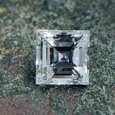 loose carre cut diamond