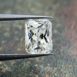 loose rectangular radiant cut diamonds