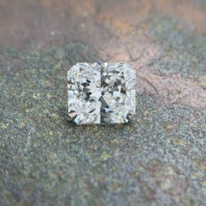 loose square radiant cut diamonds