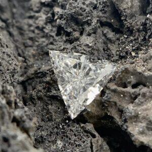 loose triangular shaped diamonds