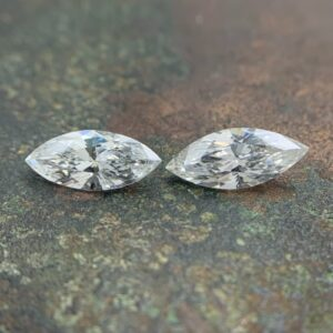 matching pairs of marquise cut diamonds