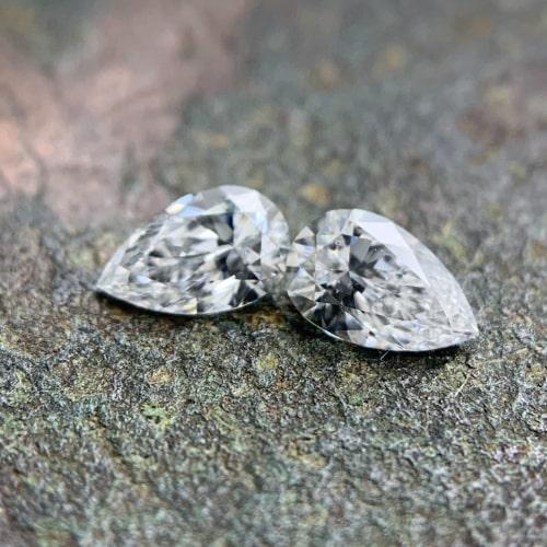 matching pear cut diamond pairs