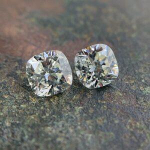 square cushion diamond matching pairs